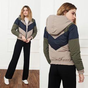 NWT Anine Bing Reversible Down Puffer Jacket Coat